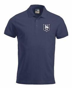 Preston North End 1940-1960s Retro Football Polo Embroidered Crest S-XXXL