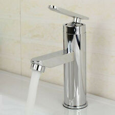 New Two Hole Basin Hot/Cold Bathroom Wash Basin Faucet Mixer Water Taps