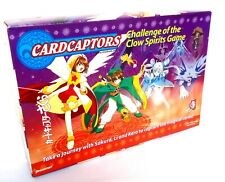 Vintage Cardcaptors Challenge of the Clow Spirits Board Game 2001 Pressman