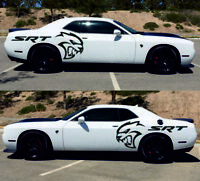 Dodge Challenger Hellcat SRT vinyl, decals, stickers 3M