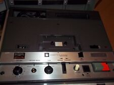 WOLLENSAK 2520AV 3M HEAVY DUTY CASSETTE RECORDER PORTABLE TAPE PLAYER SEE PICS
