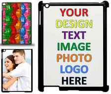 Personalised Custom Photo And Text Printed Ipad 2/3/4 Air 2 Mini Case Cover