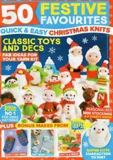 50 Christmas Toys & Decorations knitting booklet