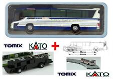 KATO by TOMIX AUTOBUS-2 + CHASSIS MOTORE ELETTRICO-MAGNETICO per SET BUS SCALA-N