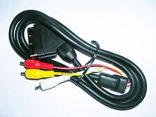 NUOVO 1.5m metri SCART A 3 X RCA Triplo Phono AV Audio Video Cavo Di Piombo
