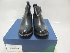 HARDY DESIGN Womens ACTON Black Leather Zip Ankle Boot US 9M (680307307695)
