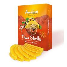 Amaizin Organic and Gluten Free Taco Shells 150g (Pack of 6)