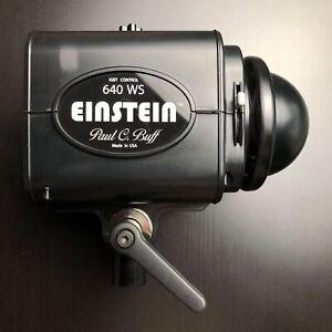 Einstein E640 Paul C. Buff Strobe Flash Monolight 640 WS