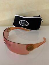 Neues AngebotChristian Dior Sonnenbrille orange und gold Damen