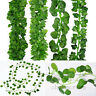 2.1M Artificial Ivy Leaf Vine Plant Garland Fake Foliage Green Wedding Party DIY