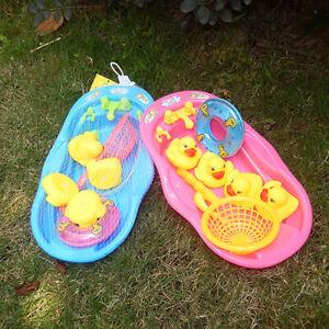 Duck Bath Toy Shower Set for Kids Girls Boy Children Shower Toy Bathtub Gift