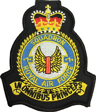 No. 1 (F) Squadron Royal Air Force RAF Crest MOD Embroidered Patch