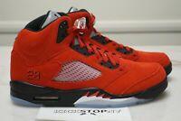 Nike Air Jordan Retro 5 Raging Bull 2021 DD0587-600 Size 4.5y-10.5 IN HAND
