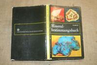 Sammlerbuch Mineralogie, Mineralbestimmung, 200 Minerale von A-Z, DDR 1976