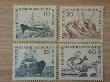 East Germany DDR 1961 Deep Sea Fishing Industry.4 stamp MLH