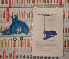Dillon 550 Press / Lee Bullet Feeder Adapter Plate Kit