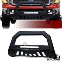 For 2002-2009 Dodge Ram Textured Black AVT Aluminum LED Bull Bar Grille Guard