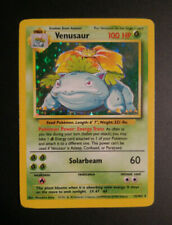 Venusaur Holo | Base Set | leicht bespielt+ | english | Bisaflor | Pokemon Karte