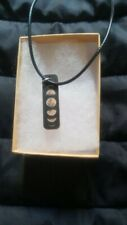Wiccan  Moon Necklace, Pentagram, Customer Request