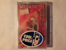 MEGADETH Peace sells... but who's buying? mc cassette k7 ITALY SIGILLATA SEALED!