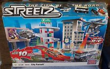 MEGA BLOKS STREETZ CITY PURSUIT SET BUILD 10 STUNTS #96432