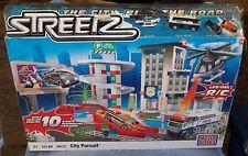 MEGA BLOKS STREETZ CITY PURSUIT SET BUILD 10 STUNTS #96432