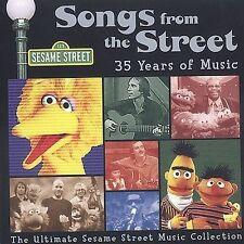 Sesame Street: Songs From Street 35 Years of Music, , Good Box set, Original rec