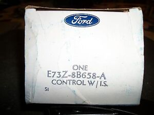 NOS 1984 - 1987 FORD TEMPO MERCURY TOPAZ 2.3L MANUAL TRANS COOLING FAN CONTROL