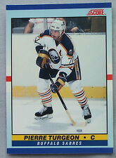 1990-91 Score Young Superstars PIERRE TURGEON BUFFALO SABRES