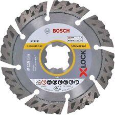 Disco Diamantato Universale Bosch X-LOCK diam.115 mm x 22,23 x 2,2 x 12, cod. 26