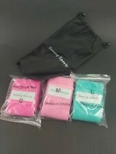 Sunny Sports 3pk Fabric Resistance Bands Small,Medium & Large Carry Pack