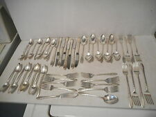 Lady Hamilton by Community Plate Silverplate Silverware Set Service for 8 -50 pc