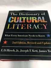 The Dictionary of Cultural Literacy ~ Hardcover ~ Used