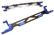 Integy Machined Alloy Battery Hold Down Plate Traxxas 1/5 X-MAXX 4x4 Blue