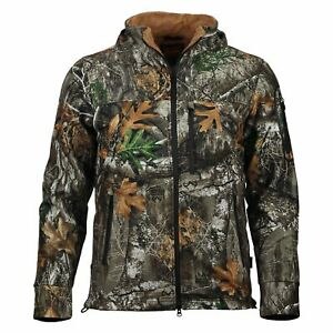 Gamehide Fleece Lined Camo Whitetail Hunting Jacket