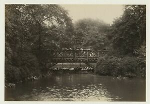 London Battersea Park 1899 Photo By Frith