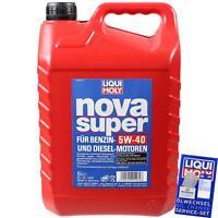 Original Liqui Moly 1462 1x5 Liter Nova Super 5W-40 Motoröl Öl