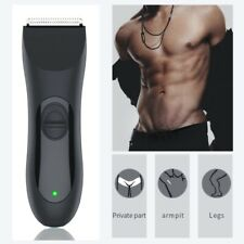 Manscaping Electric Balls/Body Pubic Hair Trimmer- Rechargeable Waterproof New