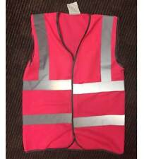 High Visibility Vests - yellow, pink, orange. HiViz High Vis HiVis High Viz