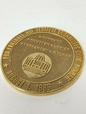 Pro Football Hall of Fame Festival Enshrinees Civic Dinner Medallion 1986 Canton
