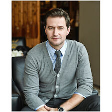 Richard Armitage Seated with Nice Smile in Gray 8 x 10 Inch Photo