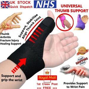 LTG Neoprene Thumb Support Splint Spica Brace Wrist Hand Strain Sprain Medical