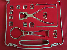 Dental Dentist Basic Rubber Dam Kit Of 13 Pieces Dental Surgical Instruments Set