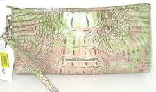 Brahmin Kayla Atlas Melbourne Embossed Leather Clutch Wristlet Bag New NWT $145