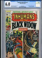 Amazing Adventures 1 - CGC 6.0 - 1970 - Marvel - Inhumans, Black Widow