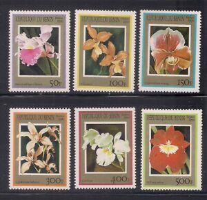 Benin   1999   Sc # 1127-32   Orchids   MNH   (54124)