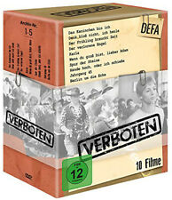 Prohibited Films Collection NEW PAL Classic 10-DVD Set Kurt Maetzig East Germany