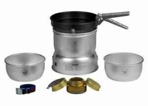 Trangia Storm Cooker 27-3 UL Alcohol Stove Cook Set w/Pots & Non-Stick Fry Pan