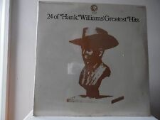 "HANK WILLIAM - 24 0F HANK GREATEST HITS - MGM RECORDS-SE-4755-2 - ""SEALED"""