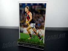 ✺Signed✺ MICHAEL HURLEY Photo & Frame PROOF COA Essendon Bombers 2017 Guernsey